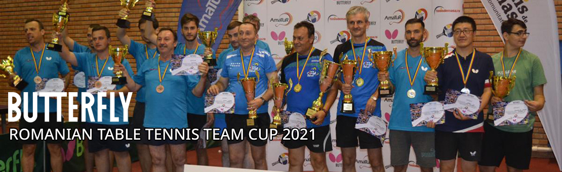 BUTTERFLY Romanian Table Tennis Team Cup 2021